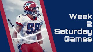 Alliance of American Football : AAF Week 2 Saturday Game Highlights and more