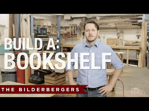 build your own bookshelf plans