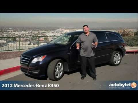 2012 Mercedes-Benz R-Class Test Drive & Luxury Car Review