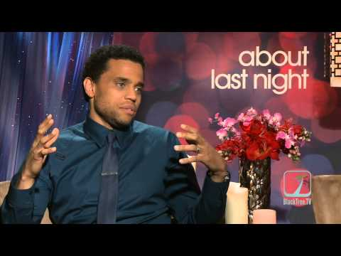 Michael Ealy & Joy Bryant on ABOUT LAST NIGHT
