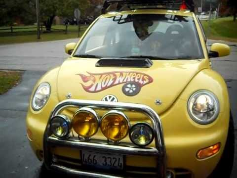 NEW VW DUNE 2001 VW BEETLE HOT WHEELS COOL BAJA LOOK FOR SALE - YouTube