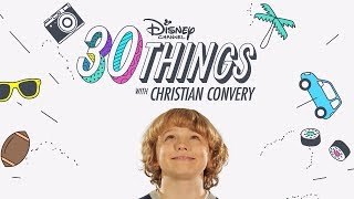 30 Things with Christian Convery! | Pup Academy | Disney Channel