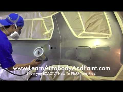 How To Spray Paint a Car at Home Yourself - Affordable DIY Methods!