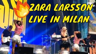 Zara Larsson - Symphony / I Would Like (Live in Milan)