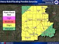 Flooding Potential - October 5, 2018