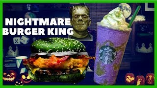 Nightmare King  / Halloween Burger King' Nightmare King Taste Test / S1•E1