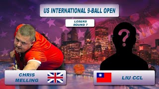 Chris Melling - Liu CCL | US International 9-Ball Open 2018