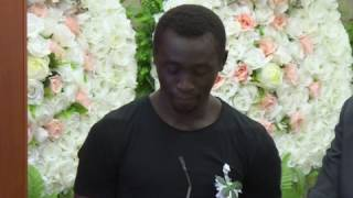 Papiss demba cissé fond en larmes en rendant hommage à son ami et frère cheick tioté