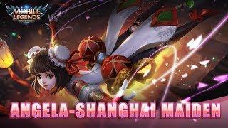 Mobile Legends: Bang Bang! July starlight Exclusive Skin Angela Shanghai Maiden