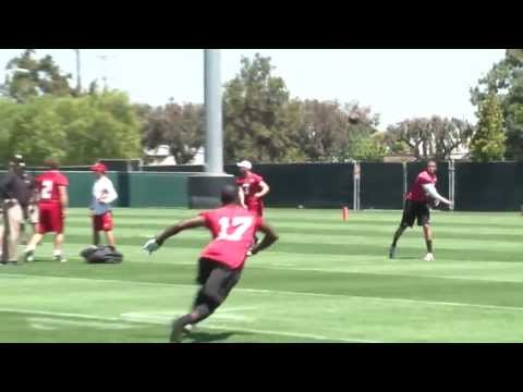 Boldin Begins Football School with 49ers