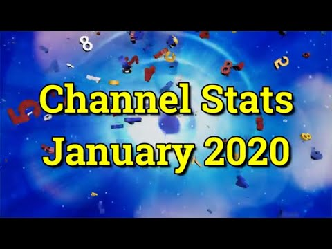 BigHairyKev Channel Stats - January 2020