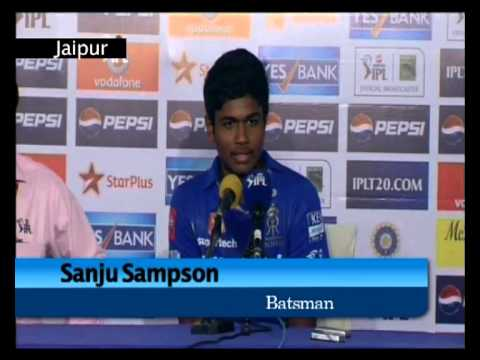 Rajasthan Royals beat Royal Challengers Bangalore (RCB), IPL6 T20 Cricket: Sanju Sampson on batting