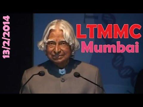 Dr APJ Abdul Kalam at LTMMC's TRINITY Mumbai, Feb 13 2014