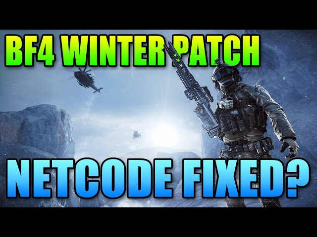 Battlefield 4 Winter Patch Changes! Massive updated to UI and Netcode