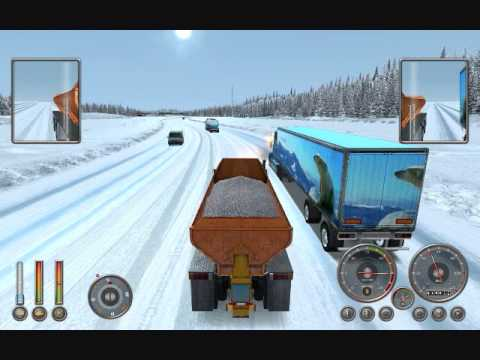 Extreme trucker - Alaska - Snow truck