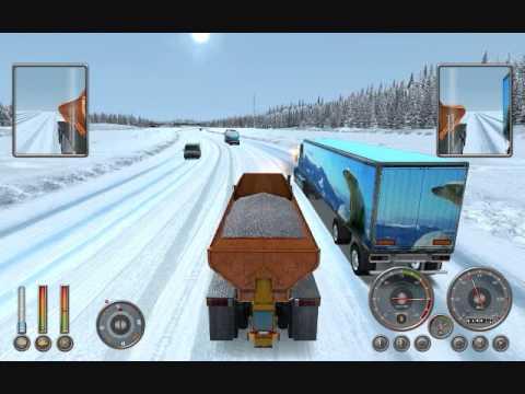 Extreme trucker - Alaska - Snow truck