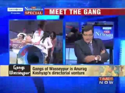 Arnab Goswami interviews Anurag Kashyap, Richa Chadda and Manoj Bajpayee...Gangs of Wasseypur