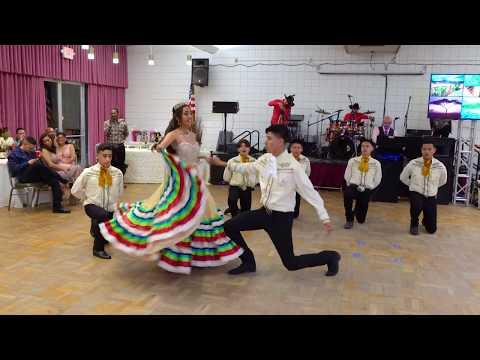 Indira Sanchez  Sweet 16 Waltz & Surprise Dance (Baile Folklorico)