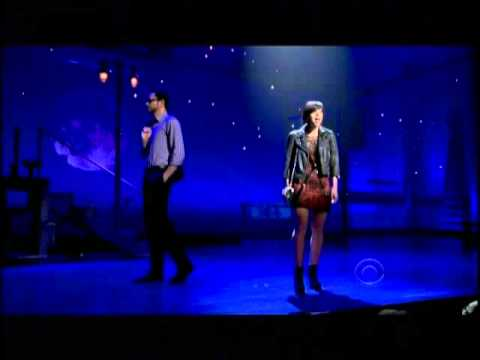 Zachary Levi and Krysta Rodriguez First Date