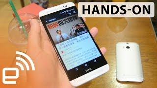 HTC One E8 hands-on | Engadget