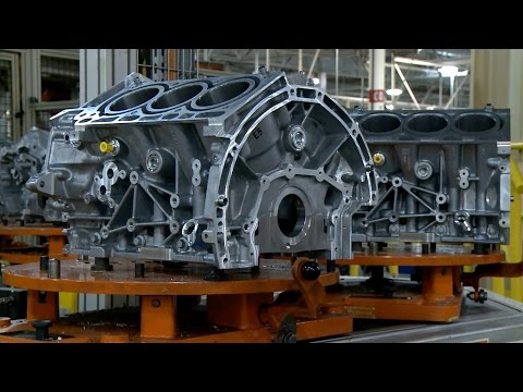 Ford EcoBoost engine factory