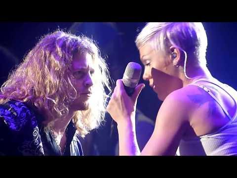Pink - Led Zeppelin Babe I'm gonna leave you, 5.12.09 Luxemburg