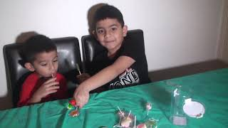 Candy box opening and try different candies ....