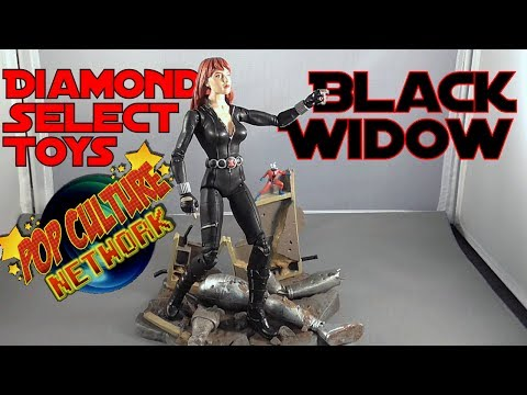 Diamond Select Black Widow Figure Review