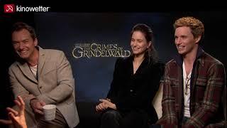 Interview Jude Law, Katherine Waterston & Eddie Redmayne FANTASTIC BEASTS: THE CRIMES OF GRINDELWALD