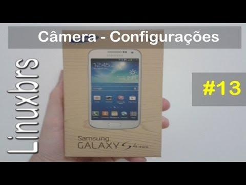 Samsung Galaxy S4 Mini Duos i9192 - Câmera - Especificações - PT-BR - Brasil