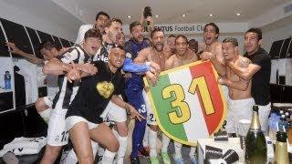 Scudetto 31! Juventus Dressing room celebrations!