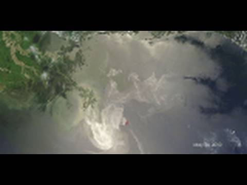 NASA | Satellites View Growing Gulf Oil Spill