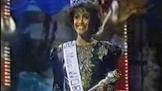 Miss World 1986 - Crowning Moment
