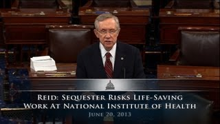 Reid: Sequester Risks Life-Saving Work At National Institutes of Health