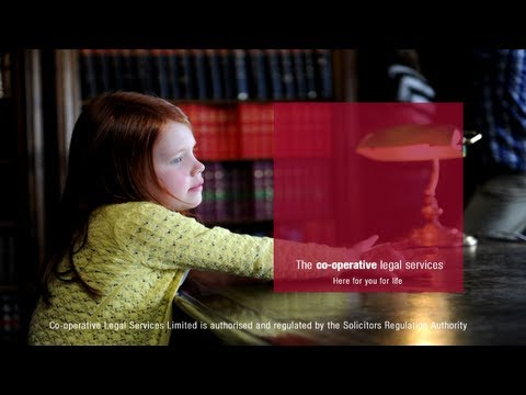 The making of Co-operative Legal Services Advert
