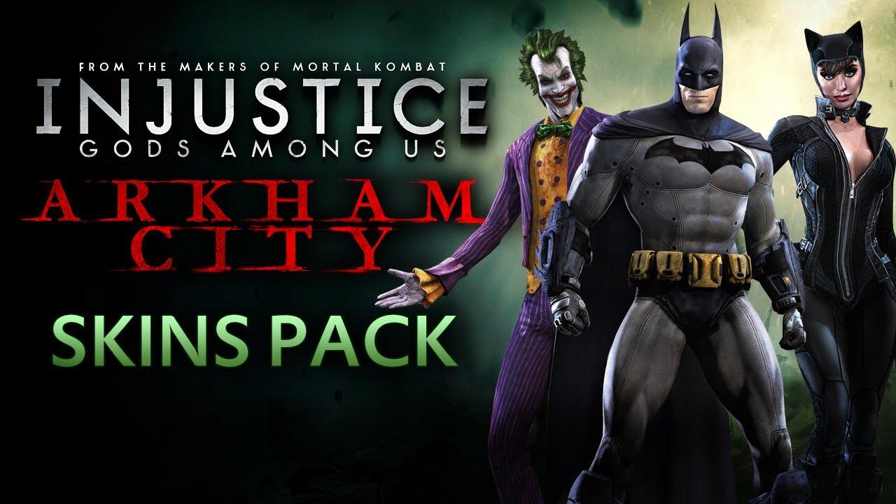 Arkham Joker Skin Arkham City Skins Gameplay