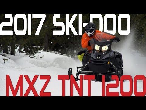 STV 2017 Ski-Doo MXZ TNT 1200