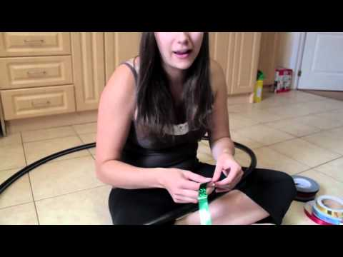 How To Make Professional Hula Hoops (for Less Than 6 Dollars A Hoop!) video