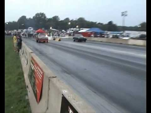 outlaw drag radial elims #2 YELLOWBULLET  NATS 2012.wmv