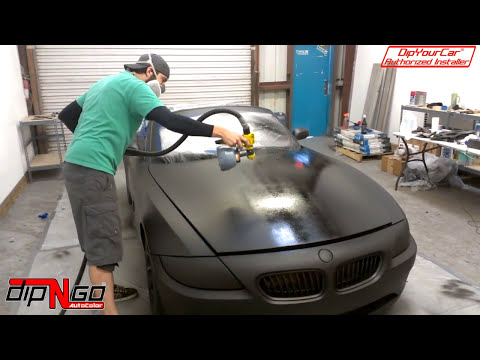 How To Plasti Dip An AutoMobile Step By Step