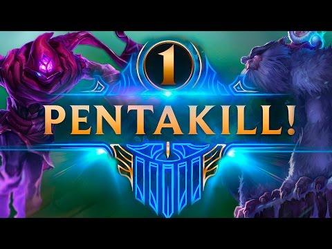 TOP PENTAKILLS #1 (League of Legends)