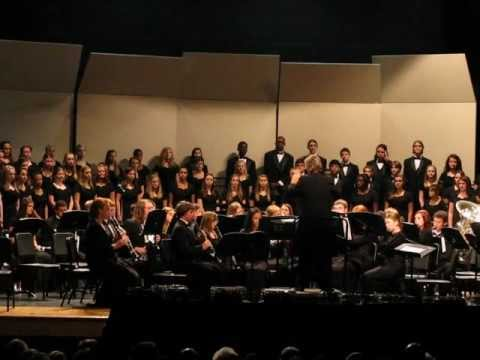 "Fall Collage Concert - Cedar Ridge High School Hillsborough NC. Symphonic Band: ""Rhythm Games"""