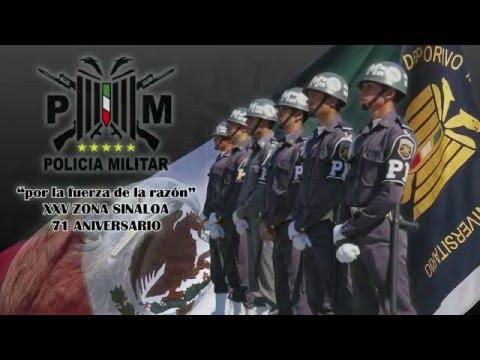 PDMU Sinaloa Exhibicion Policia Militar