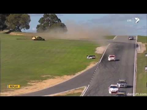 V8 Supercars 2013 (Perth Race 1) Scott Pye Masive Crash