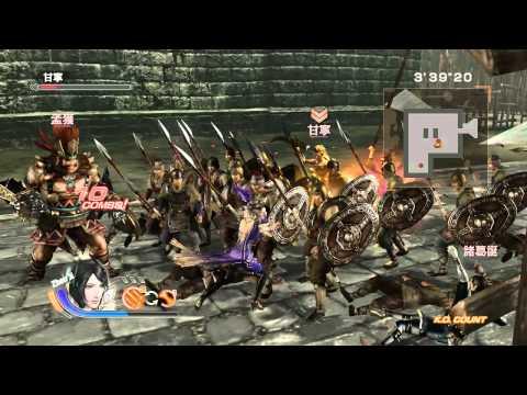 Dynasty Warriors 7 PCgamePlay on I3/GT520/Windows 8