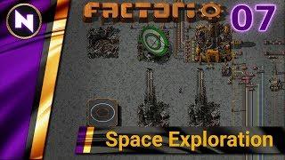 Factorio 0.17 Space Exploration #7 SCIENCE AT LAST