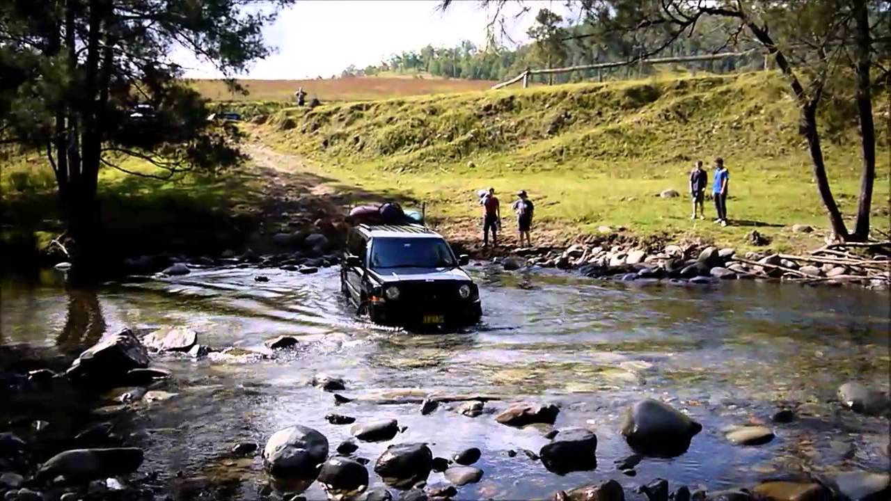 River Patriot Jeep Patriot River Crossing