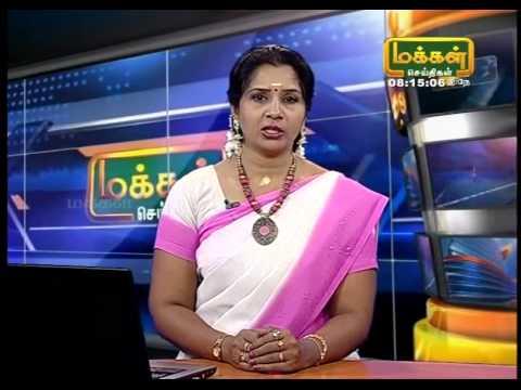 Tamil news Reader Jaya Mohan