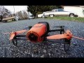 Parrot Bebop Flight time test and OVERALL REVIEW rc GPS DRONE