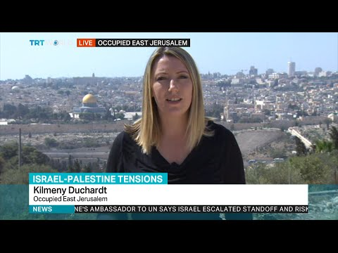 TRT World: Israel-Palestine Tensions: Kilmeny Dunchardt reports from the Occupied East Jerusalem